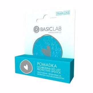 BasicLab Famillias, pomadka ochronna do ust, 4 g - zdjęcie produktu