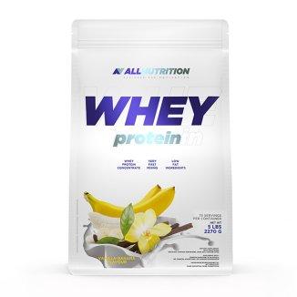 Allnutrition, Whey Protein, białko, smak waniliowo-bananowy, 908 g - zdjęcie produktu