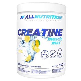 Allnutrition Creatine Muscle Max, smak cytrynowy, 500 g - zdjęcie produktu