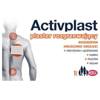 ActivPlast, plaster rozgrzewający, 1 sztuka - zdjęcie produktu