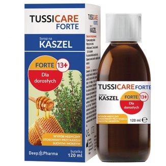 Tussicare Forte, syrop na kaszel, dla dorosłych, 120 ml - zdjęcie produktu