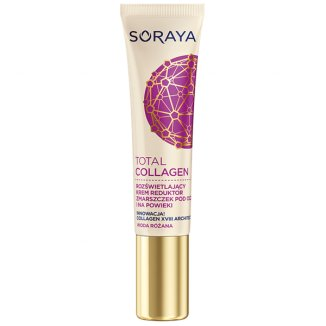 Soraya Total Collagen, krem reduktor zmarszczek, pod oczy i na powieki, 15 ml - zdjęcie produktu