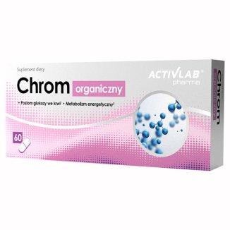 Activlab Pharma Chrom organiczny, 60 kapsułek - zdjęcie produktu