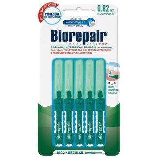 BioRepair, szczoteczki międzyzębowe 0,82 mm, cylindryczne, 5 sztuk - zdjęcie produktu