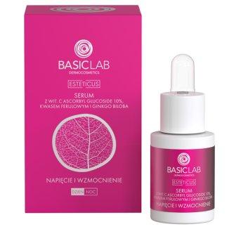 Basiclab, Esteticus, Kuracja przeciwzmarszczkowa napięcie i wzmocnienie naczynek, 15 ml - zdjęcie produktu