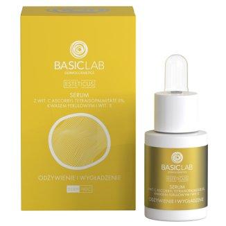 BasicLab Esteticus, kuracja przeciwzmarszczkowa, odżywienie i wygładzenie, 15 ml - zdjęcie produktu