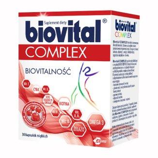 Biovital Complex, 90 kapsułek miękkich - zdjęcie produktu