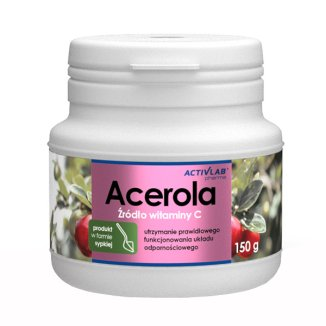 Activlab Pharma Acerola, proszek, 150 g - zdjęcie produktu