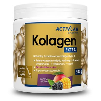 ActivLab Pharma, Kolagen extra, 300 g - zdjęcie produktu