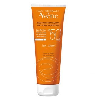 Avene Sun, mleczko ochronne do ciała, skóra wrażliwa, SPF50+, 250 ml - zdjęcie produktu