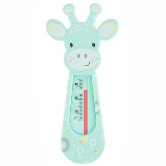 BabyOno, pływający termometr do kąpieli, żyrafa, miętowy, 1 sztuka - zdjęcie produktu