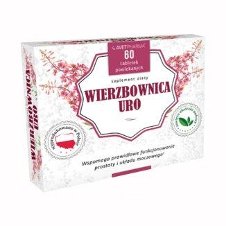 AvetPharma Wierzbownica Uro, 60 tabletek powlekanych - zdjęcie produktu