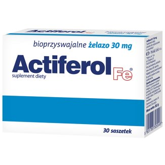 Actiferol Fe 30 mg, 30 saszetek - zdjęcie produktu