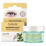 Flos-Lek, krem rozświetlający pod oczy, świetlik i witamina C, 15 ml - miniaturka zdjęcia produktu