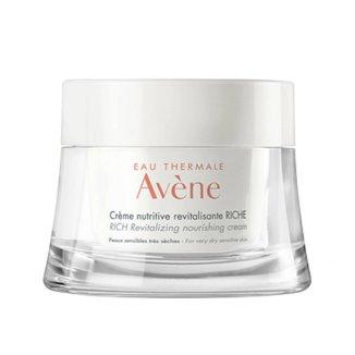 Avene LesEssentiels, odżywczy krem rewitalizujący o bogatej konsystencji, skóra wrażliwa i bardzo sucha, 50 ml - zdjęcie produktu