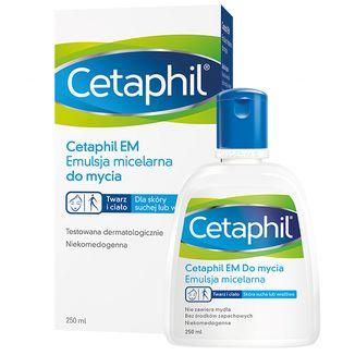 Cetaphil EM, emulsja micelarna do mycia, 250 ml - zdjęcie produktu