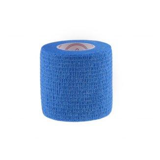 5E, bandaż samoprzylepny Non-Woven Premium, bezlateksowy, niebieski, 5 cm x 4,5 m - zdjęcie produktu