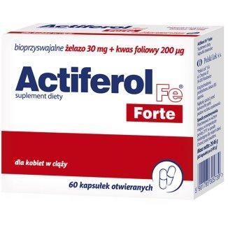 Actiferol Fe Forte, 60 kapsułek - zdjęcie produktu