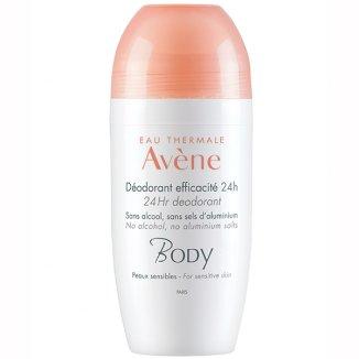Avene Body, dezodorant 24h, roll-on, 50 ml - zdjęcie produktu