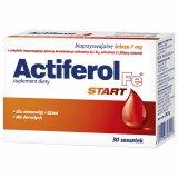 Actiferol Fe Start dla niemowląt, dzieci i dorosłych, 30 saszetek - miniaturka zdjęcia produktu