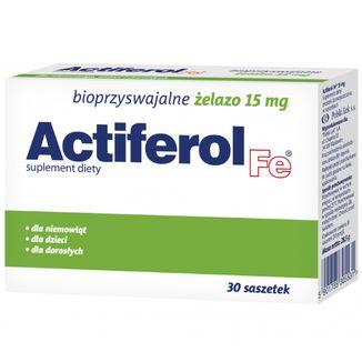 Actiferol Fe 15 mg, 30 saszetek - zdjęcie produktu