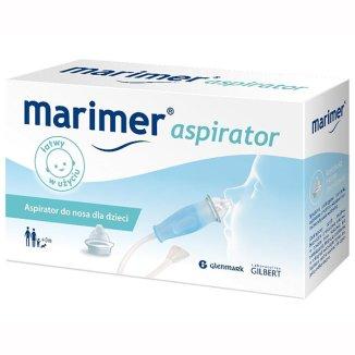 Aspirator do nosa Marimer, dla dzieci, 1 sztuka - zdjęcie produktu