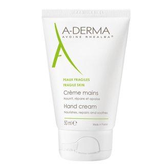 A-Derma, regenerujący krem do rąk, skóra sucha i wrażliwa, 50 ml - zdjęcie produktu