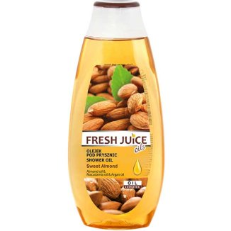 Fresh Juice, olejek pod prysznic, Sweet Almond, 400 ml - zdjęcie produktu