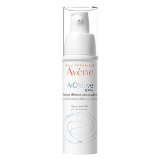 Avene A-Oxitive, antyoksydacyjne serum ochronne, skóra wrażliwa z pierwszymi oznakami starzenia, 30 ml - zdjęcie produktu