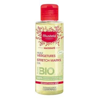 Mustela Maternite Bio, organiczny olejek na rozstępy, 105 ml - zdjęcie produktu