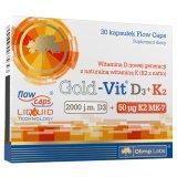 Olimp Gold-Vit D3 + K2, 30 kapsułek - miniaturka zdjęcia produktu