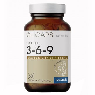 ForMeds Olicaps Omega 3-6-9, 60 kapsułek - zdjęcie produktu