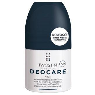 Iwostin Deocare Men, antyperspirant dla mężczyzn 72h, roll-on, 50 ml - zdjęcie produktu