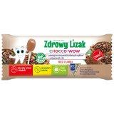 Zdrowy Lizak Chocco-Wow, smak kakaowy, 1 sztuka - miniaturka zdjęcia produktu