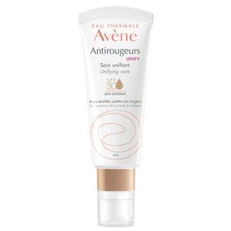 Avene Antirougeurs Unify, pielęgnacja wyrównująca koloryt, skóra wrażliwa i skłonna do zaczerwienień, SPF30, 40 ml - zdjęcie produktu