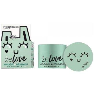 Flos-Lek żeLOVE, żel nawilżający do twarzy, aloe water bomb, 2in1, 50 ml - zdjęcie produktu