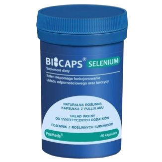 ForMeds Bicaps Selenium, selen 300 μg, 60 kapsułek - zdjęcie produktu
