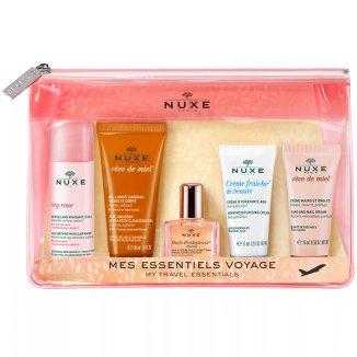 Nuxe Travel Kit, kosmetyczka podróżna + 5 mini produktów - zdjęcie produktu