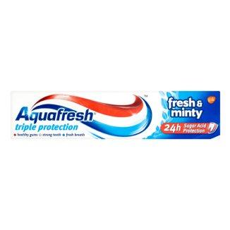 Aquafresh Fresh&Minty, pasta do zębów, 75 ml - zdjęcie produktu
