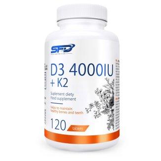 SFD D3 4000IU + K2, 120 tabletek - zdjęcie produktu