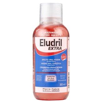 Eludril Extra, płyn do płukania jamy ustnej, 300 ml - zdjęcie produktu