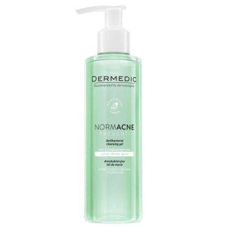 Dermedic Normacne Preventi, żel antybakteryjny do mycia twarzy, 500 ml - zdjęcie produktu