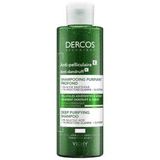 Vichy Dercos Anti Dandruff K, szampon przeciwłupieżowy, głęboko oczyszczający, 250 ml - zdjęcie produktu