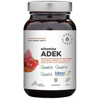 Aura Herbals Witamina ADEK, 90 kapsułek - zdjęcie produktu