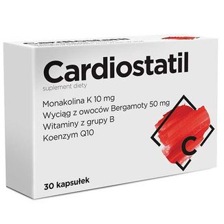 Cardiostatil, 30 kapsułek - zdjęcie produktu