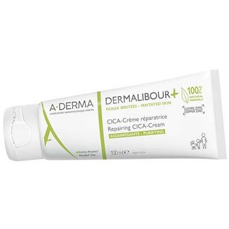 A-Derma Dermalibour+ Cica, krem regenerujący do skóry podrażnionej, od 1 dnia życia, 100 ml - zdjęcie produktu