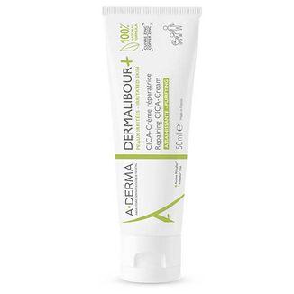 A-Derma Dermalibour+ Cica, krem regenerujący do skóry podrażnionej, od 1 dnia życia, 50 ml - zdjęcie produktu