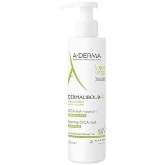 A-Derma Dermalibour+ Cica, żel do mycia skóry podrażnionej, 200 ml - zdjęcie produktu