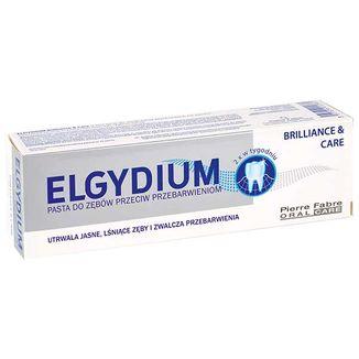 Elgydium Brillance&Care, pasta do zębów przeciw przebarwieniom, 30 ml - zdjęcie produktu