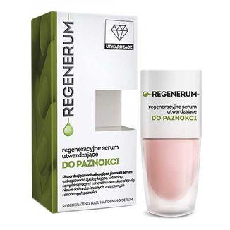 Regenerum, regenerujące serum do paznokci w lakierze, utwardzające, 8 ml - zdjęcie produktu